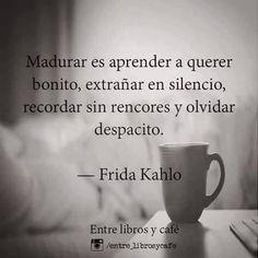 Spanish Inspirational Quotes, Spanish Quotes, Citations Frida, Woman Quotes, Me Quotes, Night Quotes, Frida Quotes, Frases Instagram, Quotes En Espanol