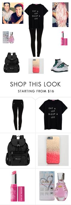 """""""Making YouTube Videos with Nash and Cameron"""" by nikolestyles ❤ liked on Polyvore featuring Vila Milano, Retrò, Sherpani, Bare Escentuals and GUESS"""