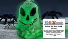 Michaels will be offering a FREE Glow-in-The Dark Slime Event on Saturday, October from pm – pm! Free Baby Samples, Free Baby Stuff, Slime, The Darkest, Glow, Usa, Sparkle, Lima, U.s. States
