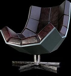 Got a hankering to be a super villain?  Well, the first thing you'll need is nice comfy super villain chair.  This oversize lounger chair on a swivel base will be perfect for your undersea lair. - $9500