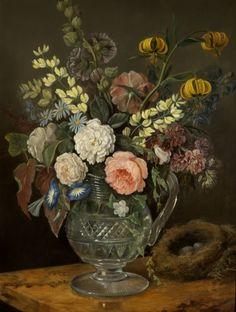 Study of Flowers. Artist: Rolinda Sharples.