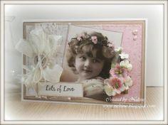 Neltine's Cards Designs: *Vintage Girl...