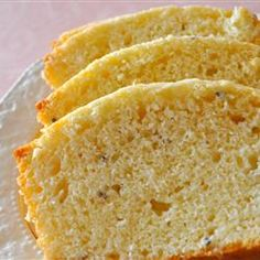 Lavender Tea Bread - might be interesting to try this with cardamom instead of lavender.