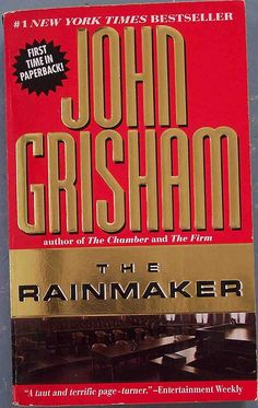 an analysis of the novel the rainmaker by grisham The chamber / the rainmaker has 231 ratings and 8 reviews doris said: another good john grisham book the length of the book is good and takes us from s.