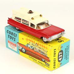Corgi Toys Superior Cadillac Ambulance