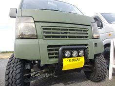 Car Japanese Kei Truck 【軽トラ】 Kei Car, Mini Trucks, Car Humor, Offroad, Cool Cars, Samurai, Jeep, Monster Trucks, Vans