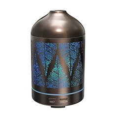 Essential Oil Diffuser TaoTronics 100ml Aroma Diffuser with Renaissance Design Dual Mist Settings 7 LED Colors Aromatherapy Diffuser CorrosionProof Water Tank Safe Metal Casing >>> ** AMAZON BEST BUY **
