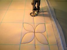 how to: dogwood quilting pattern