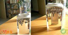 Waste utilization: cans cut fancy carving
