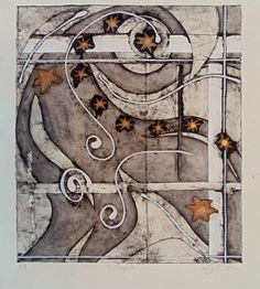 Collograph by SaraTheDirector on Etsy