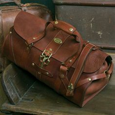 Leather~ would be great flight bag.-SR