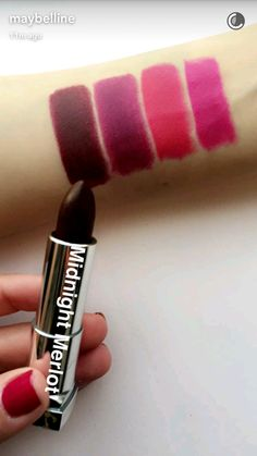 maybelline loaded bolds midnight merlot swatches