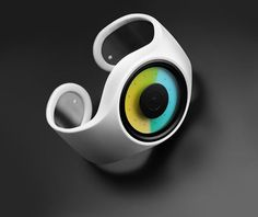 Aurora Watch by ZIIIRO  The Aurora watch from ZIIIRO is unlike any other watch I've seen — it displays time through color.    Read more at Design Milk: http://design-milk.com/aurora-watch-by-ziiiro/#ixzz1yf3ZFddo