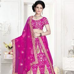 Buy Trendy Pure Net Designer Lehenga In Pink Colour.  #designerclothing #lehenga #trends