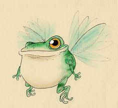 Fairy Frog again by IgorSan.deviantart.com on @deviantART