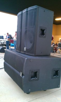 Installed a Electro Voice Live X system including a DC ONE and EV Drum mic package at Stadde Farm in McHenry