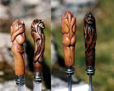Cane Handles, Knife Handles, Opinel Knife, Friction Folder, Wood Knife, Lame, Welding Projects, Dildo, Knife Making