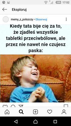 Polish Memes, Bad Memes, Keep Smiling, Creepypasta, Haha Funny, Fnaf, Bujo, Jokes, Text Posts