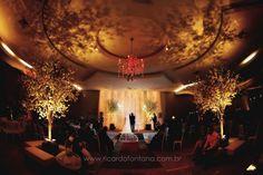 Decoração da Cerimônia em Locais Fechados | Noivinhas de Luxo