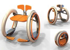 Mobi electric folding wheelchair. This has potential I believe for young people in wheelchairs on the go. #technology