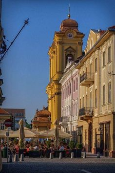 Timisoara - Piata Unirii. Timisoara Romania, Big Ben, Street View, Travel, World, Viajes, Destinations, Traveling, Trips