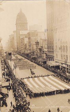RP, Parade, Market Street, San Francisco, California, PU-1928
