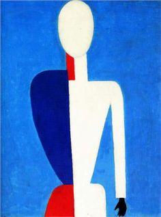 Torso by Kazimir Malevich - Canvas Art Print Harlem Renaissance, Abstract Painters, Abstract Art, Action Painting, Painting & Drawing, Kazimir Malevich, Arte Popular, Art Abstrait, Russian Art