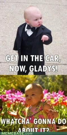 baby godfather meme