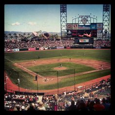 The most beautiful and fun MLB park ever! #SFGiants