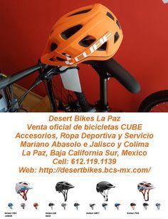 Cascos CUBE  Los cascos son esenciales en ciclismo. http://desertbikes.bcs-mx.com/post/161040883462/cubehelmets