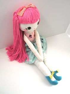 Mend Custom Rag Doll by MendbyRubyGrace on Etsy