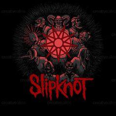 Slipknot Merchandise Graphic by TwistedXP on CreativeAllies.com