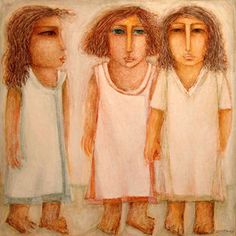Zeinab El-Seginy Born in Cairo, Al Sageny graduated from the Faculty of Fine Arts in Later she earned her PHD in Art . Modern Art, Contemporary Art, Arab American, Egypt Art, Painter Artist, Wise Women, Folk, Pilgrim, Cairo