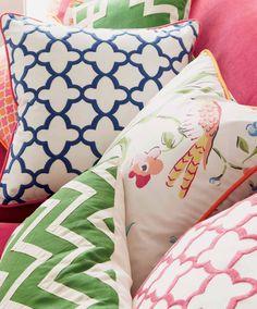 Pillows On Pinterest Pillows Greek Key And