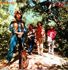 """I've always liked this band. """"Creedence Clearwater Revival - Green River"""" (I like this album cover A LOT too)."""