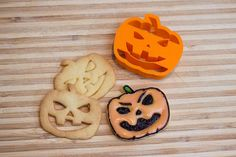 Halloween Pumpkin Cookie Cutter Fondant Cutter by TeptecStudios