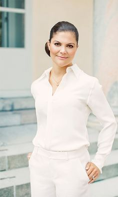 Crown Princess Victoria of Sweden poses ahead of her 40th birthday. Photo: Erika Gerdemark, The Royal Court, Sweden.