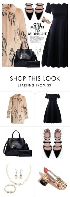 """""""Sin título #1358"""" by yexyka ❤ liked on Polyvore featuring Shrimps, Zara and vintage"""