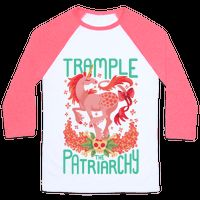 Trample The Patriarchy Baseball