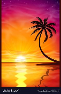Buy Sunset, Sunrise with Palm Tree by Binkski on GraphicRiver. A Beautiful Sunset, Sunrise with Palm Tree. – Fully editable vector EPS 10 , gradients and transparencies used. Palm Tree Silhouette, Sunset Silhouette, Silhouette Painting, Drawing Sky, Palm Tree Drawing, Tree Wallpaper Iphone, Palm Tree Vector, Palm Tree Sunset, Tree Illustration