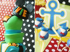 Disney Carnival Birthday Party with Mickey & Friends...lots of cute ideas
