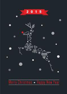 Inspirerende voorbeelden van zakelijke kerstkaarten | Flyer.be