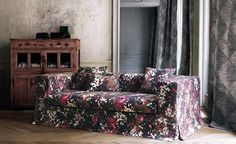 Astratto - Black Edition by Romo #SalonsInterija #Designer Fabrics & Wallcoverings, Upholstary Fabrics