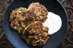 Spicy Turkey and Zucchini Burgers recipe from Simply Recipes