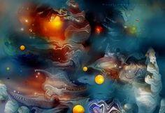 'Cosmic+10'+von+Natalia+Rudzina+bei+artflakes.com+als+Poster+oder+Kunstdruck+$16.63