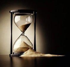 The hourglass is broken