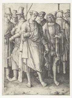 1508 - 1512 Lucas van Leyden,   Nine men (Negen mannen)