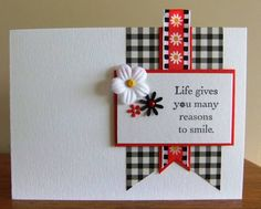 Reasons to smile by Tilly - Cards and Paper Crafts at Splitcoaststampers
