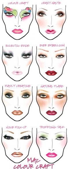 New MAC Colour Craft collection face charts review | Beauty Junkies Unite