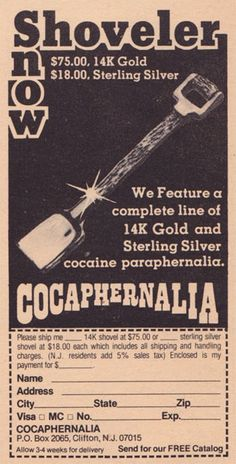 These Shameless Cocaine Ads Prove the '70s Were a Hell of a Time to Be Alive | Adweek